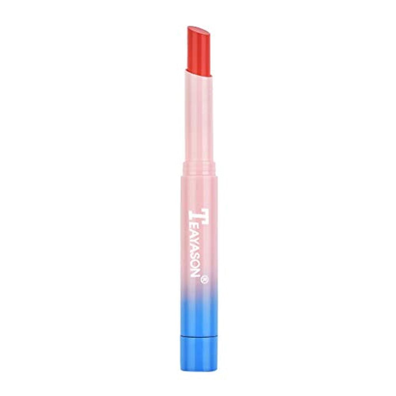 気晴らし純正強打口紅 BOBOGOJP 新タイプ かわいい オシャレなリップグロス 唇の温度で色が変化するリップ 天然オイル入り 自然なツヤ 保湿 長持ち リップスティック リップベース 防水 透明 リップベース 子供 大人 プレゼント (B) (B)