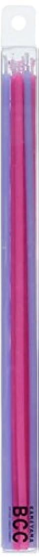 マネージャー歯科のフルーティー18cmスリムキャンドル 「 ピンク&ラベンダー 」 10本入り 10箱セット 72361833PL