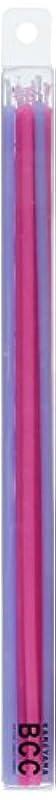 掃く雄弁家矢18cmスリムキャンドル 「 ピンク&ラベンダー 」 10本入り 10箱セット 72361833PL