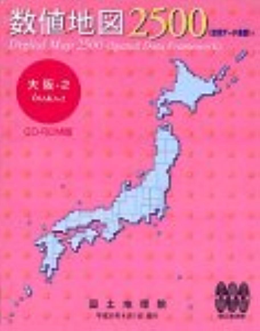 開いたジャンピングジャック本気数値地図 2500 (空間データ基盤) 大阪-2