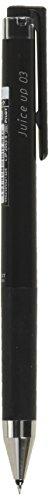 ゲルインキボールペン ジュースアップ ノック式 0.3mm【ブラック】 LJP-20S3-B