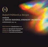 ベートーヴェン:交響曲全集/ロドリーゴ:アランフェス協奏曲 ベルリオーズ:幻想交響曲/リヒャルト・シュトラウス:アルプス交響曲 [Blu-ray]