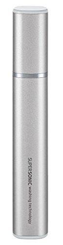 シャープ SHARP 超音波ウォッシャー (携帯に便利なスリムタイプ USB防水対応) シルバー系 UW-S2-S