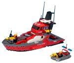 レゴ (LEGO) ワールドシティ 消防指令船 7046