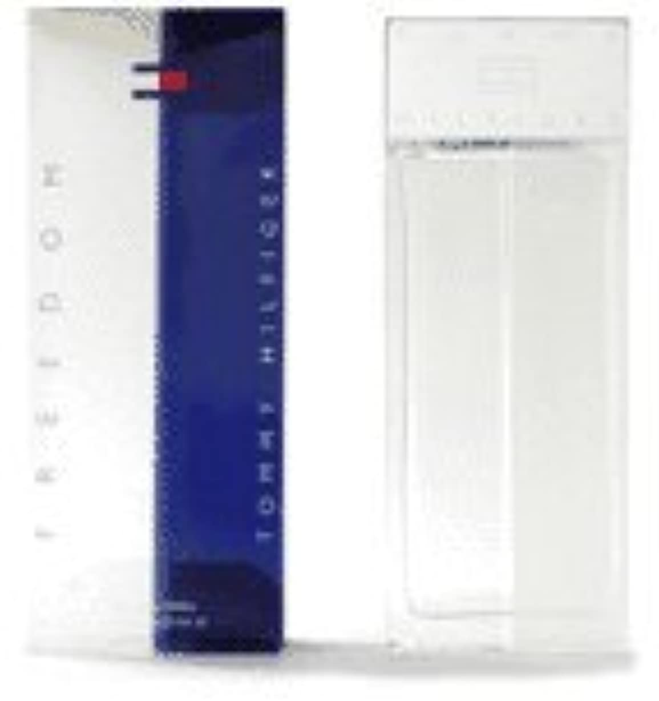 癌アピール民主主義Freedom (フリーダム) 3.4 oz (100ml) EDT Spray by Tommy Hilfiger for Men