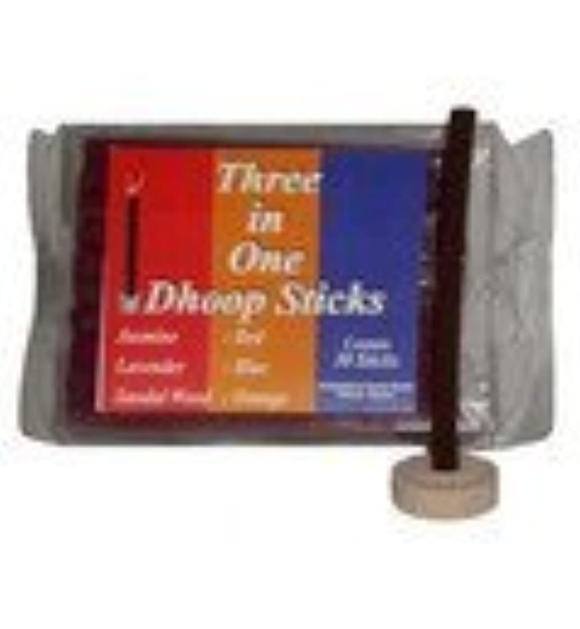 責める水曜日洪水Mixed Pack Dhoop Pure Incense Sticks
