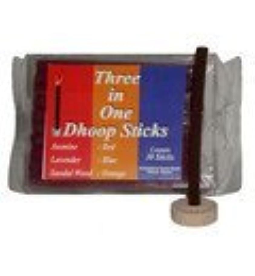 電気緊張排泄するMixed Pack Dhoop Pure Incense Sticks