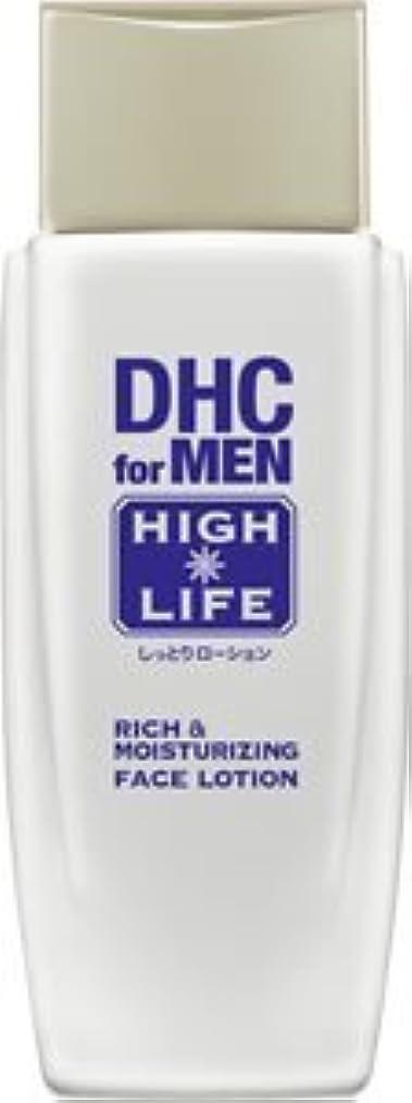 ヘビ書店耐えられないDHCリッチ&モイスチュア フェースローション【DHC for MEN ハイライフ】