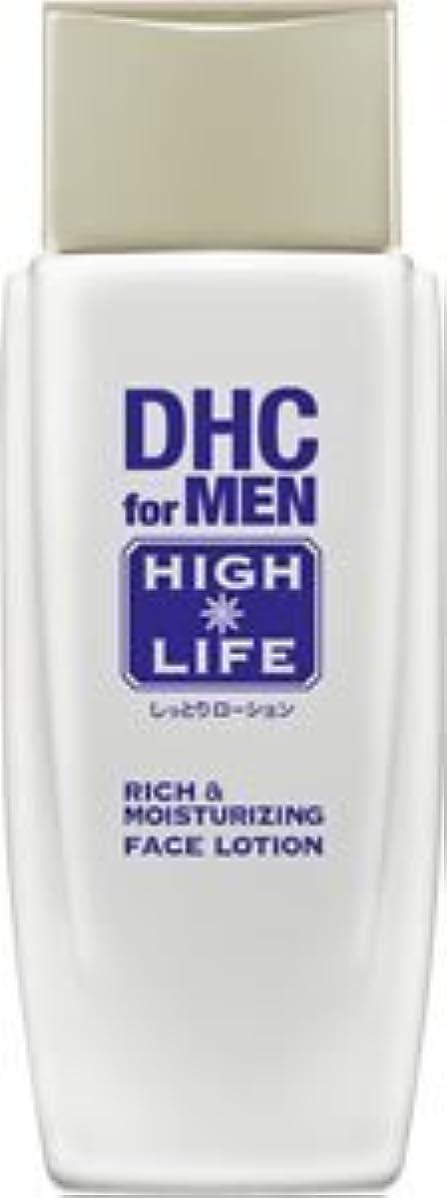 冒険手段クリックDHCリッチ&モイスチュア フェースローション【DHC for MEN ハイライフ】