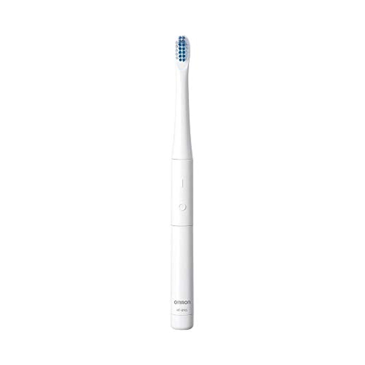 劇作家終わりに向けて出発Omron オムロン 音波式電動歯ブラシ HT-B905-W 電動歯ブラシ