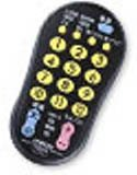 JVCケンウッド ビクター 地上デジタル対応テレビ用簡単リモコン ブラック RM-A210-B
