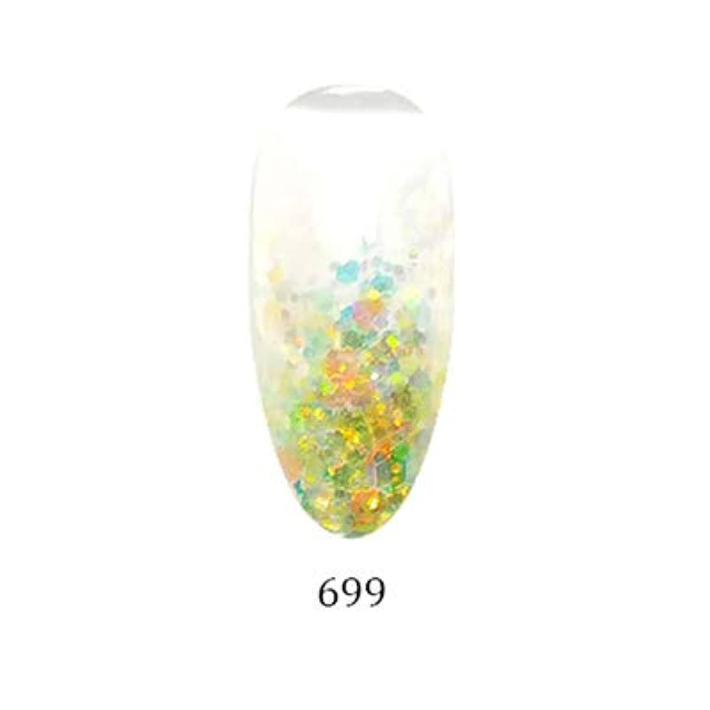 寛容なチャーミング原油アイスジェル カラージェル グリーミングシリーズ GM-699 3g