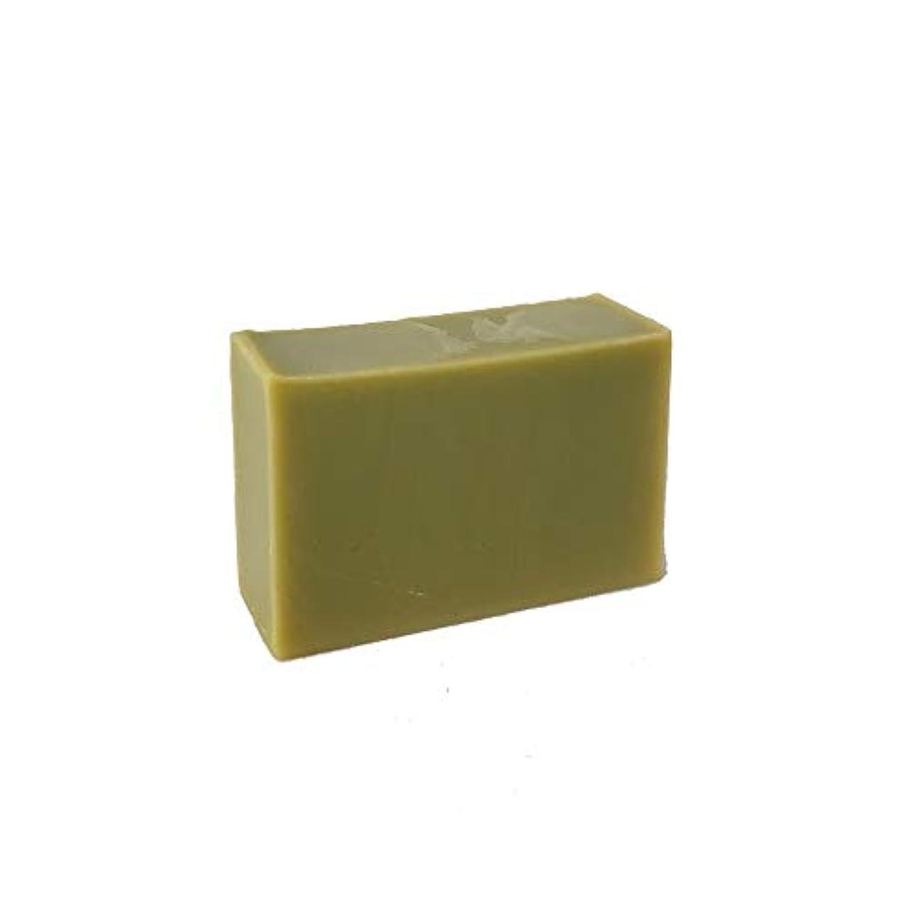 溶接大破子供っぽい石けん工房花華のツボクサ石けん コールドプロセス製法 80g