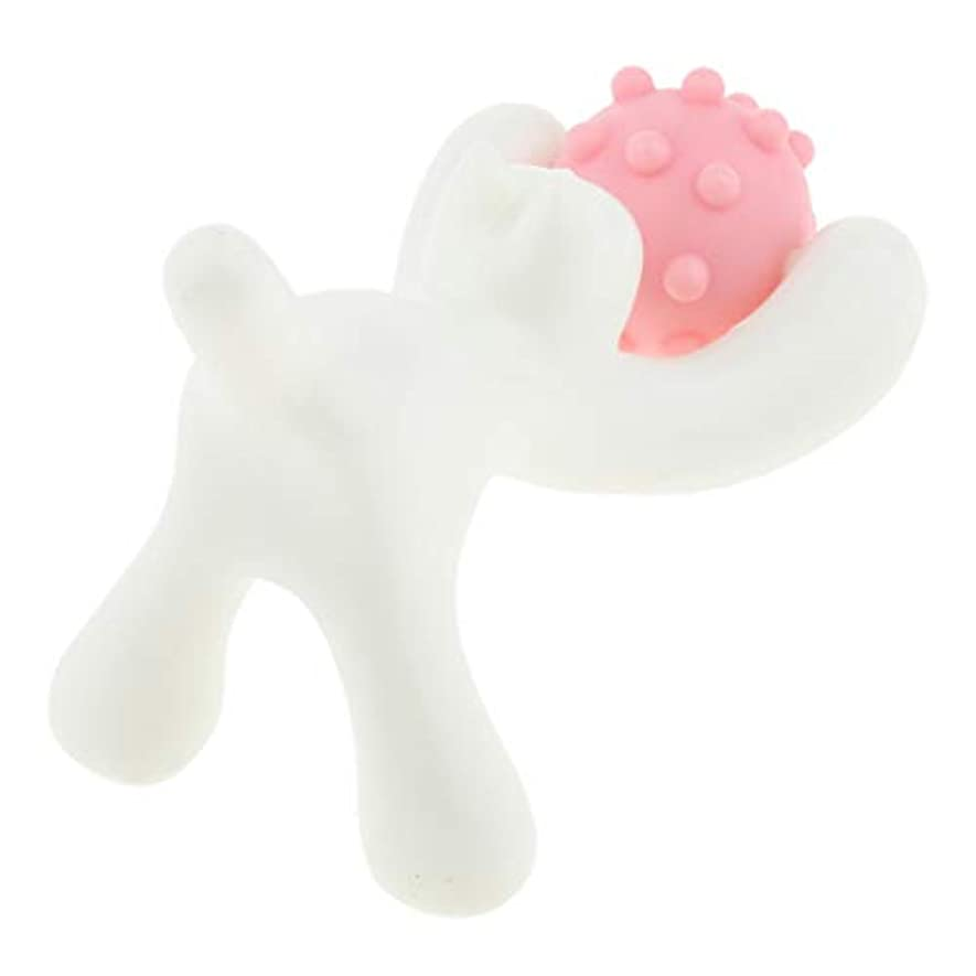 エステート製造むちゃくちゃフェイスローラー 美顔ローラー フェイス ボディー用 マッサージローラー 猫の形 快適 3色選ぶ - ピンク