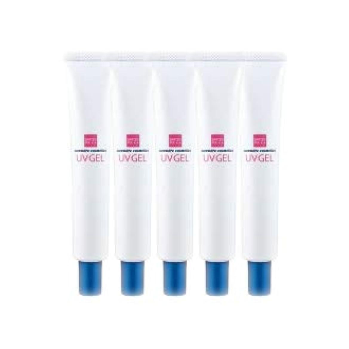 ブロックする歯痛年エバメール UVゲル (日焼け止め美容ジェル) 30g 5本セット