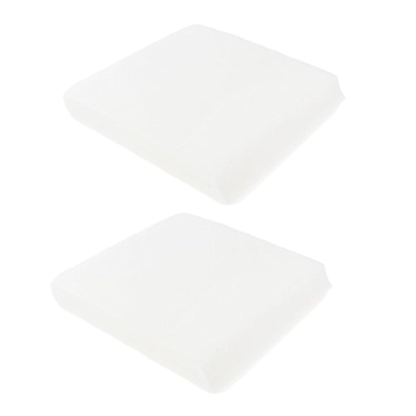 電球インペリアル群がるPerfk 2パック 使い捨て ナプキン タオル ハンドタオル ローズ ゲストタオル ペーパー 2サイズ - 1#