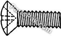 ステンレスPhillipsオーバルヘッドマシンscrews44、100/ボックス6–32X 1/ 2–Marine Fasteners