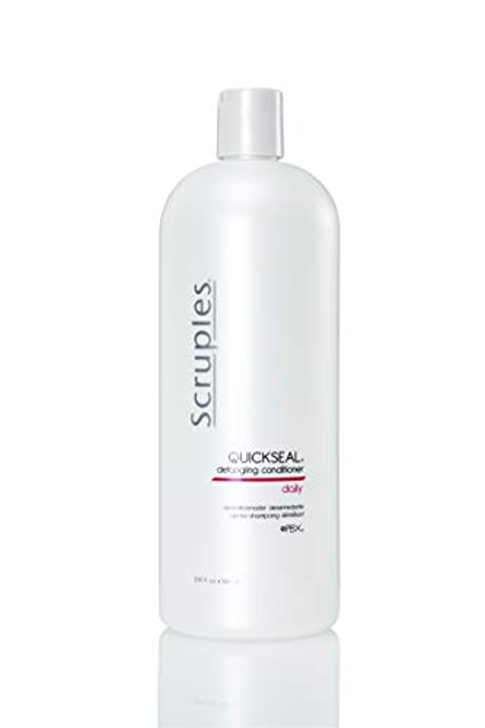 セージ装置文明化Scruples Quickseal Conditioner, 33.8 Fluid Ounce by Scruples