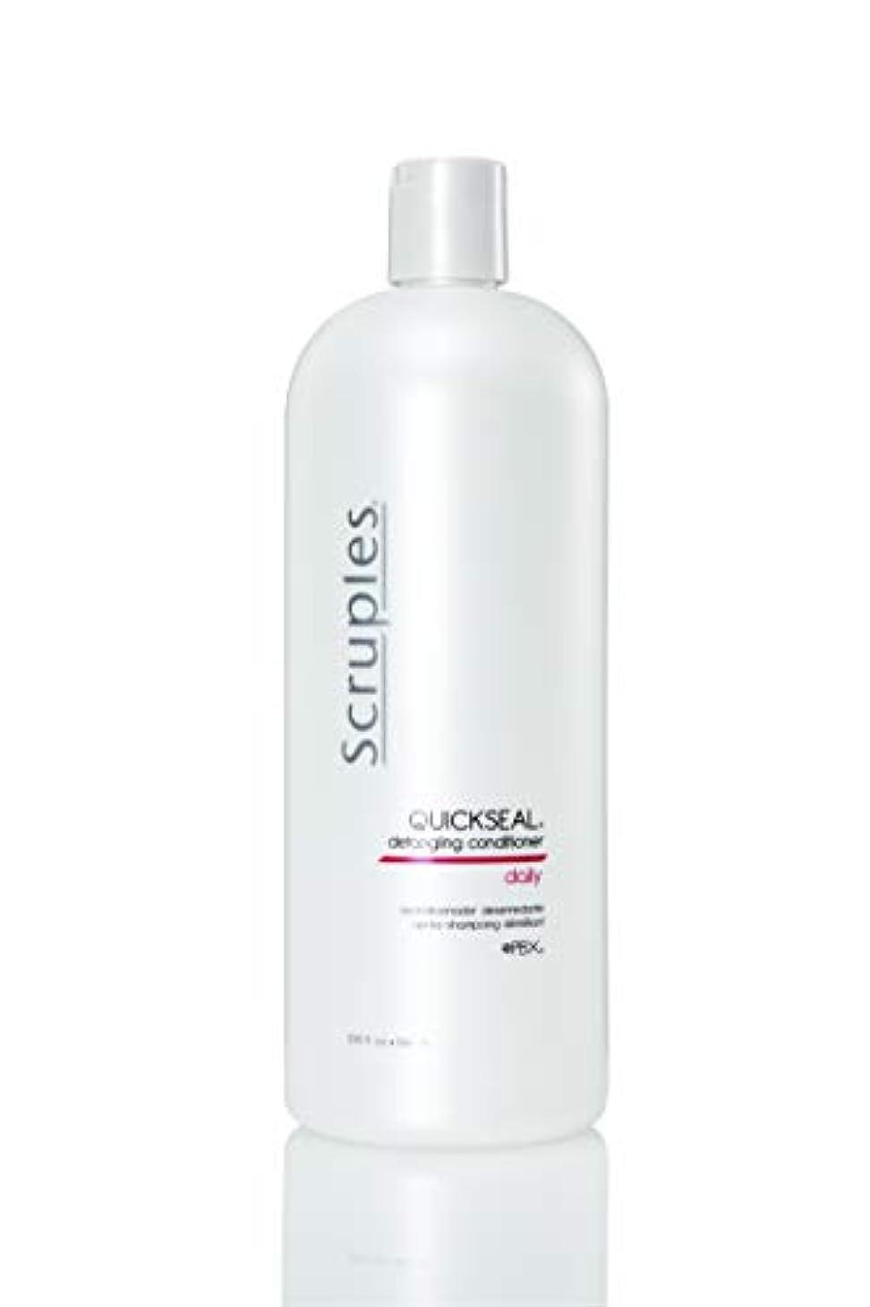 失う継続中特別にScruples Quickseal Conditioner, 33.8 Fluid Ounce by Scruples