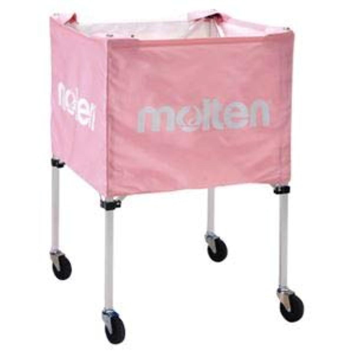 店主ブルゴーニュ満足できるモルテン(Molten) 折りたたみ式ボールカゴ(屋外用)ピンク BK20HOTPK