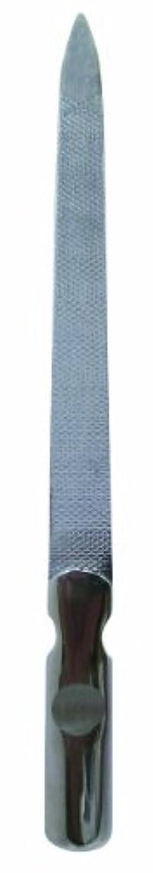 高架カテゴリー酸度BQ&S ネイルファイル 使うほど手になじむ 高級ステンレス プロ仕様爪ヤスリ BS794