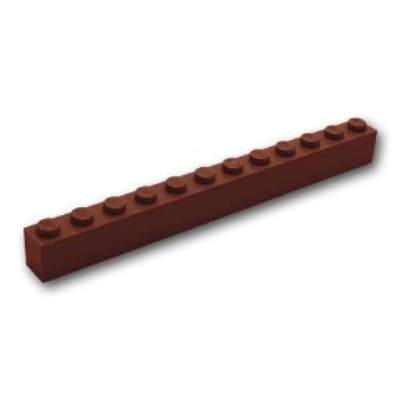 レゴブロックパーツ ブロック 1 x 12:[Reddish Brown / ブラウン]【並行輸入品】