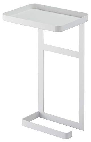 RoomClip商品情報 - 山崎実業(Yamazaki) トイレットペーパーホルダー上ラック 2段 ホワイト 約W17XD12.5XH30cm タワー トイレ 収納 飾り棚 4394