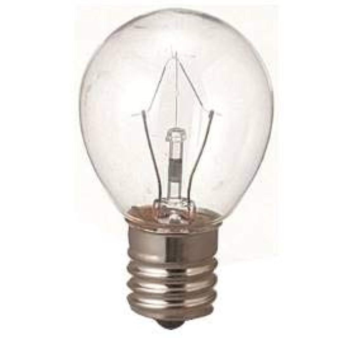 ツーリスト表示印をつける生活の木 アロマランプM用 電球15W(サイズ:φ23×H50mm)