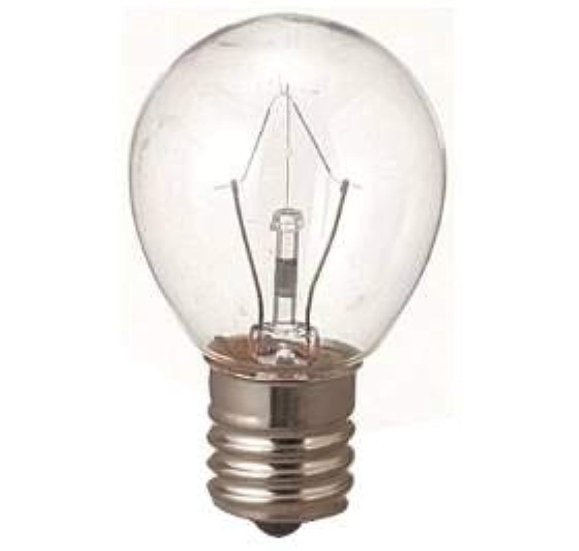 アジャ繊維乳白色生活の木 アロマランプM用 電球15W(サイズ:φ23×H50mm)