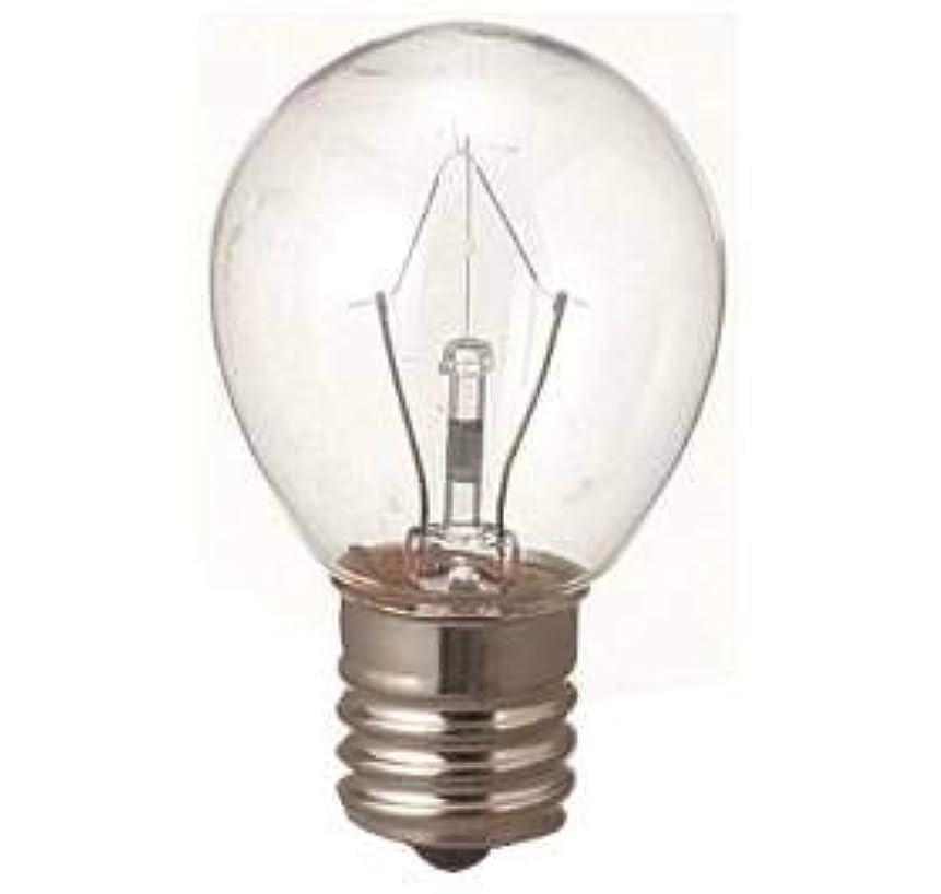 ストラップヶ月目合金生活の木 アロマランプM用 電球15W(サイズ:φ23×H50mm)