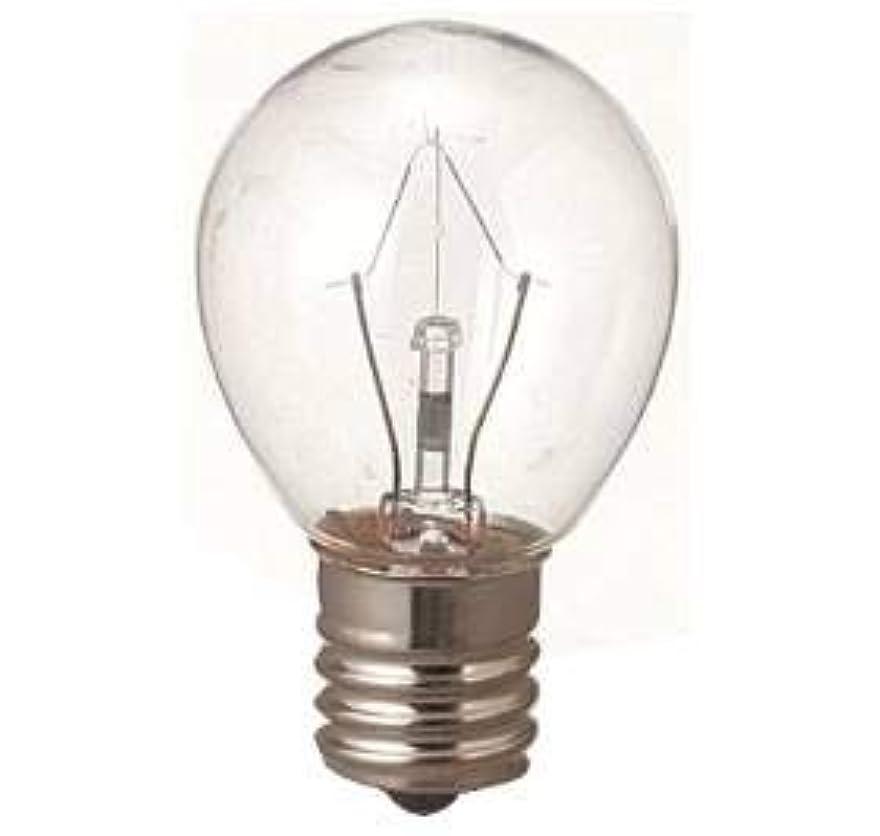 捨てるバブル郡生活の木 アロマランプM用 電球15W(サイズ:φ23×H50mm)