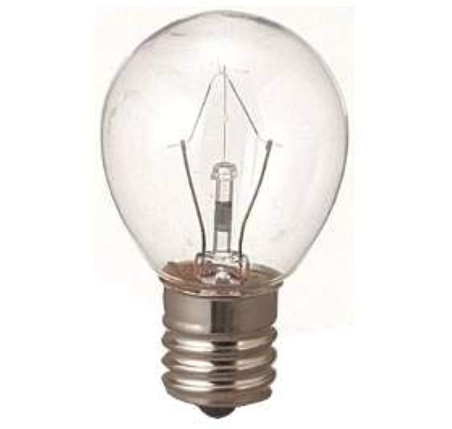 プラスチックヘルシーベアリング生活の木 アロマランプM用 電球15W(サイズ:φ23×H50mm)