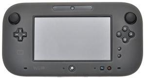 PLATA (プラタ) Wii U ゲーム パッド 用 シリコン カバー 【 グレー 】...