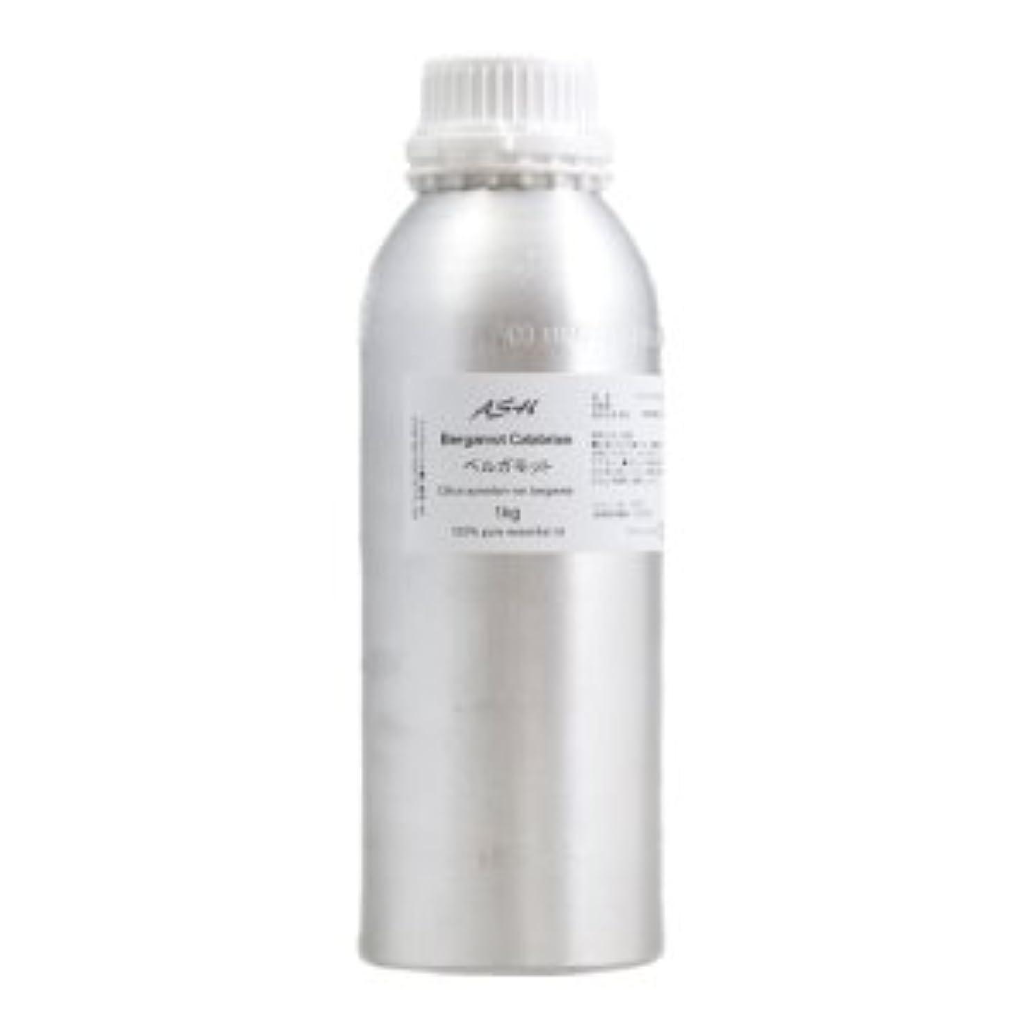 干渉皿一般的にASH ベルガモット エッセンシャルオイル 業務用1kg AEAJ表示基準適合認定精油