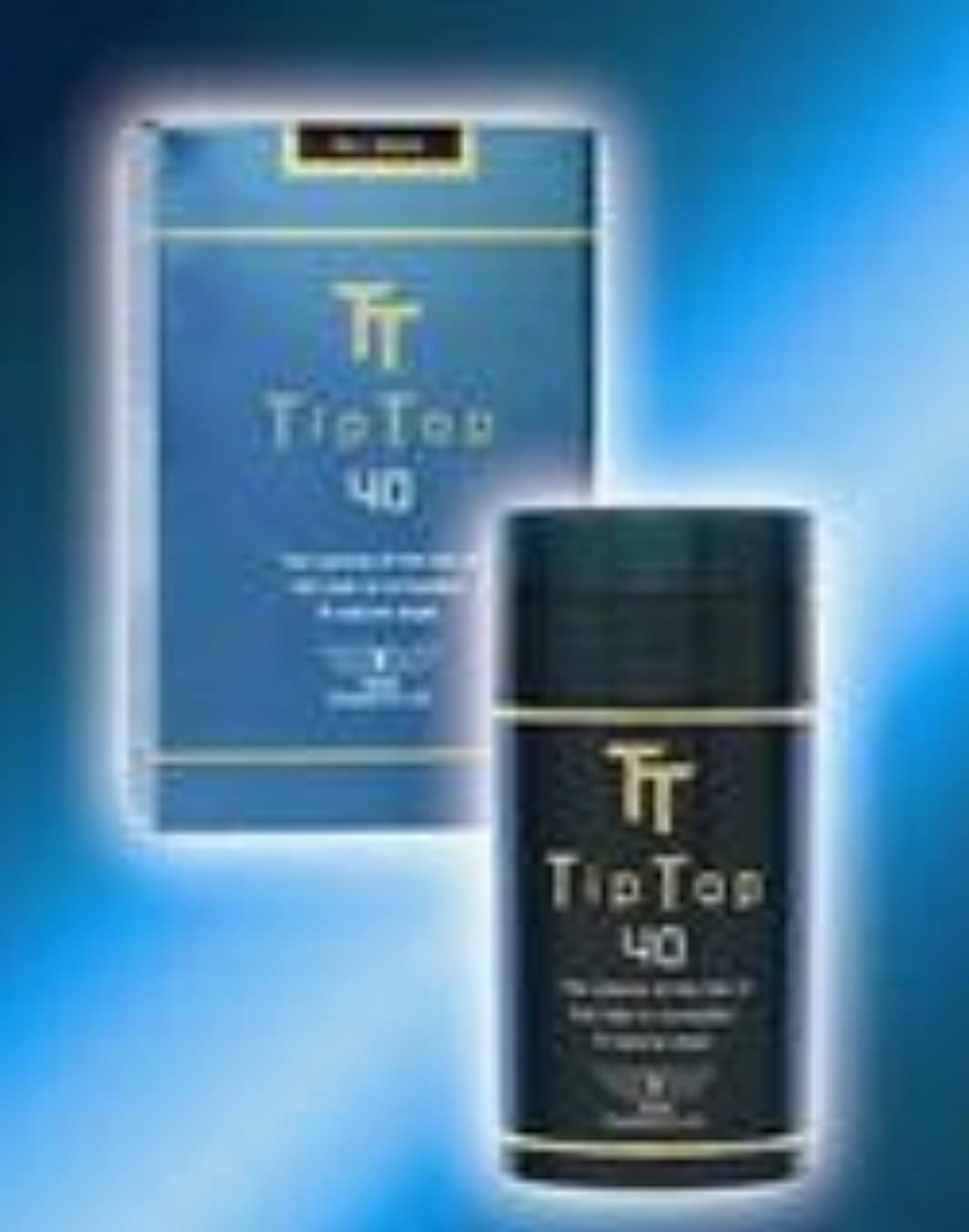 咳利用可能寛容ティップトップ40 40g 高品質な特殊繊維 (フルだけ瞬間薄毛ケア) No8:ゴールド