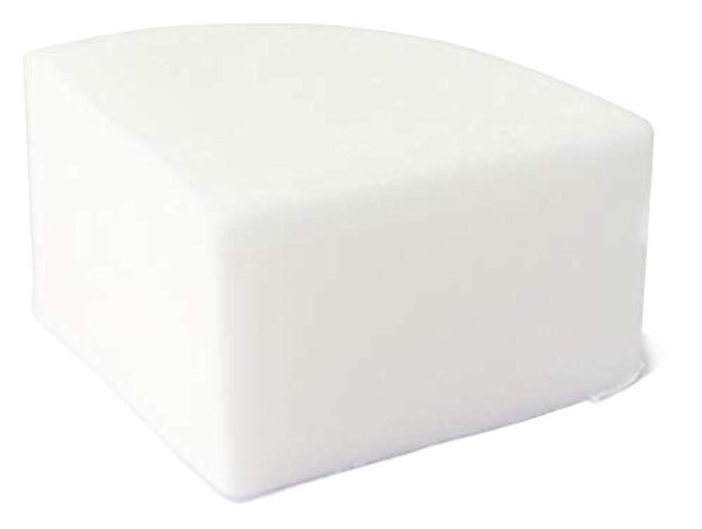 カート意気消沈した流行グリセリン クリアソープ (MPソープ) 色チップ 白 25g
