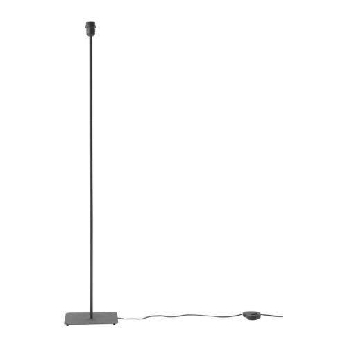 ★ヘマ / HEMMA / フロアランプベース / ブラック[イケア]IKEA(70149502)
