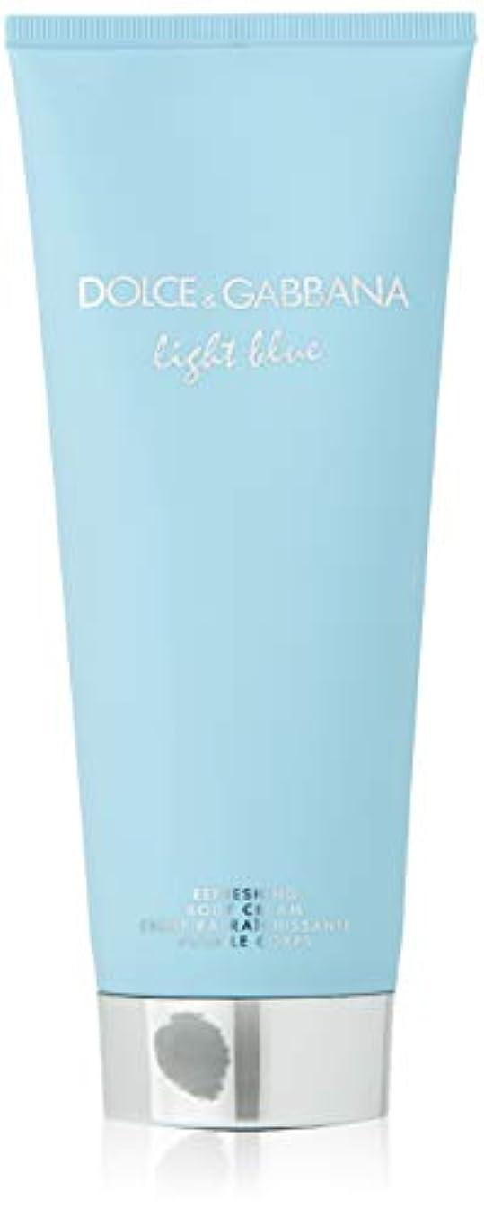 【ドルチェ&ガッバーナ】ライトブルー リフレッシング ボディクリーム 200ml [並行輸入品]
