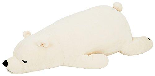 りぶはあと ねむねむプレミアム抱きまくらLサイズ ホワイト 76x32x20cm 28977-11