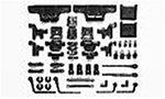 R/C SPARE PARTS SP-737 TL01・C部品(サスアーム)