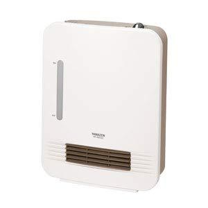 山善 加湿機能付きセラミックヒーター【暖房器具】YAMAZEN HF-KB122-W