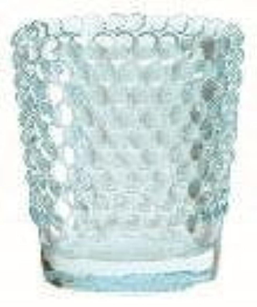 ニッケルドラッグ指令カメヤマキャンドル(kameyama candle) ホビネルグラス 「 サファイア 」6個セット