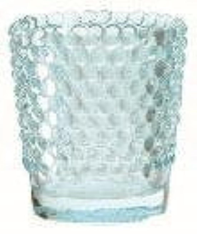 政治家とティーム社会主義カメヤマキャンドル(kameyama candle) ホビネルグラス 「 サファイア 」6個セット