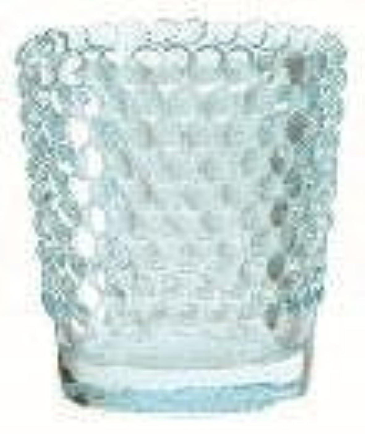 ハンマーコンプリート飢えカメヤマキャンドル(kameyama candle) ホビネルグラス 「 サファイア 」6個セット