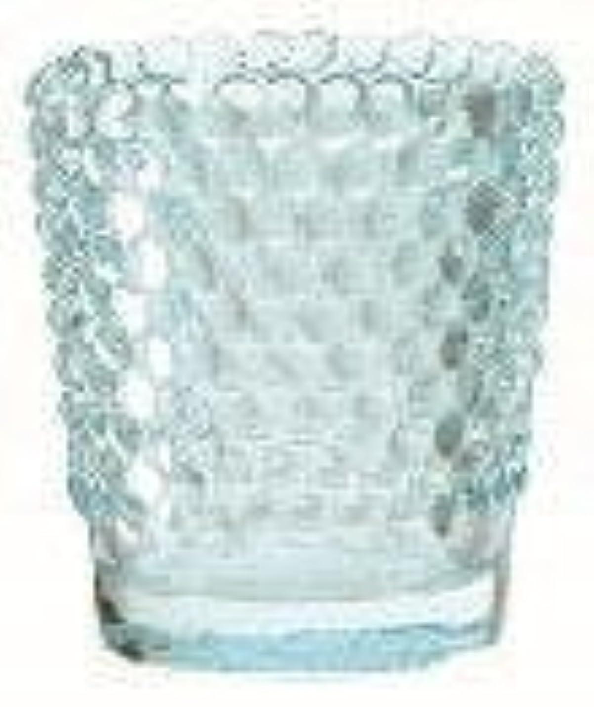 迷路シュリンク補助カメヤマキャンドル(kameyama candle) ホビネルグラス 「 サファイア 」6個セット