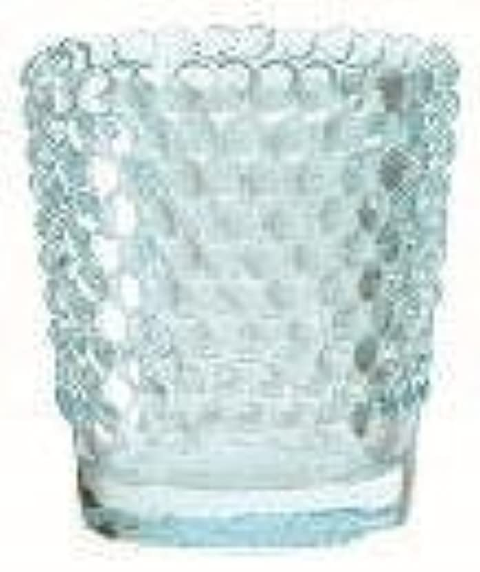 眠っているワームペレットカメヤマキャンドル(kameyama candle) ホビネルグラス 「 サファイア 」6個セット