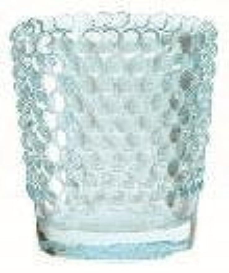 モーター恥ずかしさ上級カメヤマキャンドル(kameyama candle) ホビネルグラス 「 サファイア 」6個セット