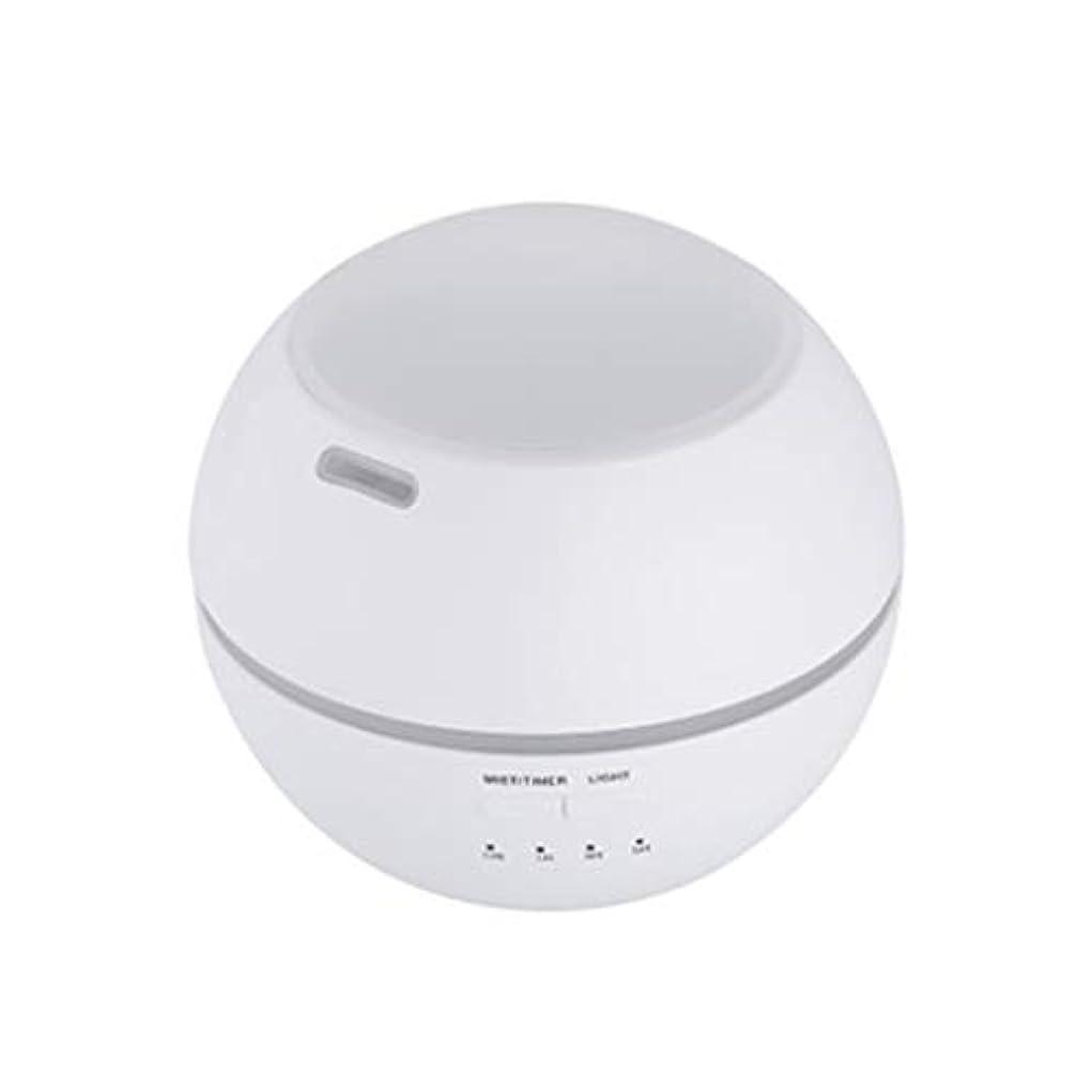 ブリリアント小人ブッシュマルチライトマシンクリエイティブ超音波加湿器ランプ家庭用必須ディフューザーギフト (Color : White)