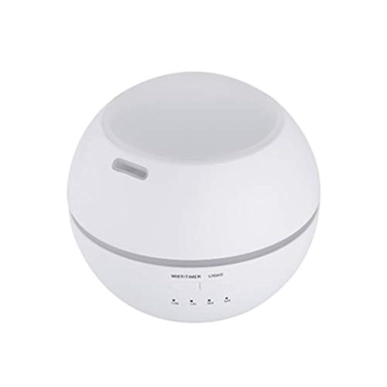 作ります一致かどうかマルチライトマシンクリエイティブ超音波加湿器ランプ家庭用必須ディフューザーギフト (Color : White)