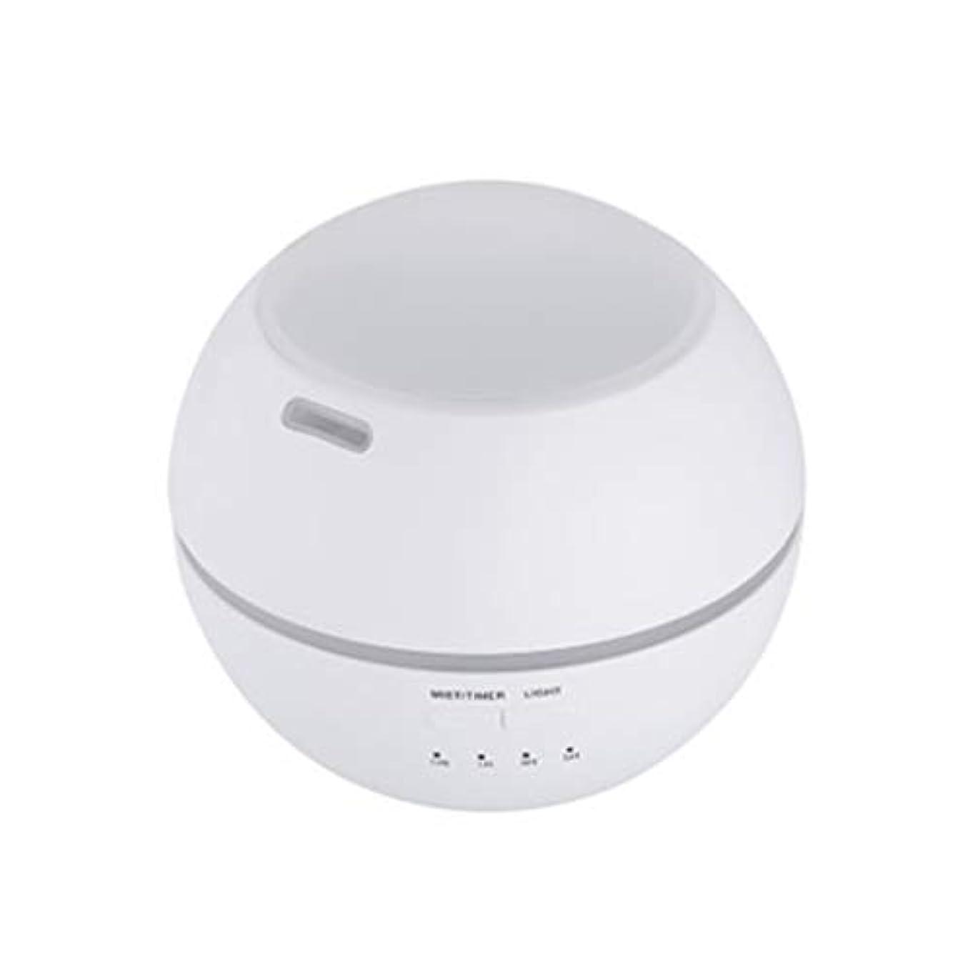 有彩色のカップルクリスチャンマルチライトマシンクリエイティブ超音波加湿器ランプ家庭用必須ディフューザーギフト (Color : White)